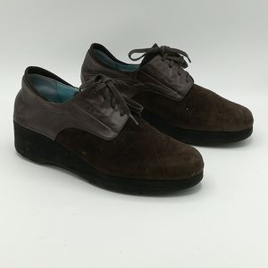 Thierry Rabotin Extra Light Lace Up Comfort Shoes